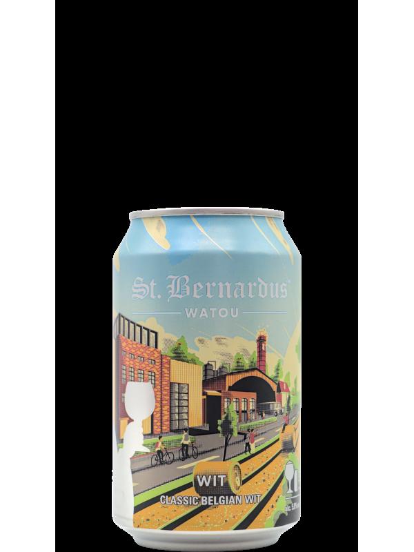 St Bernardus Witbier Can 33cl - 1